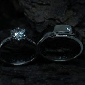 Cincin Nikah Platinum – CP132
