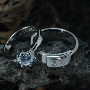 Cincin Nikah Platinum – CP133