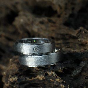 Cincin Nikah Platinum – CP139